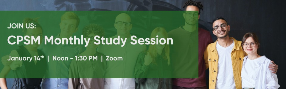 CPSM Study Session January